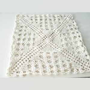 Other - Vintage Crocheted Pillow Cover